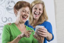 Smartphone sales boom with over-55s
