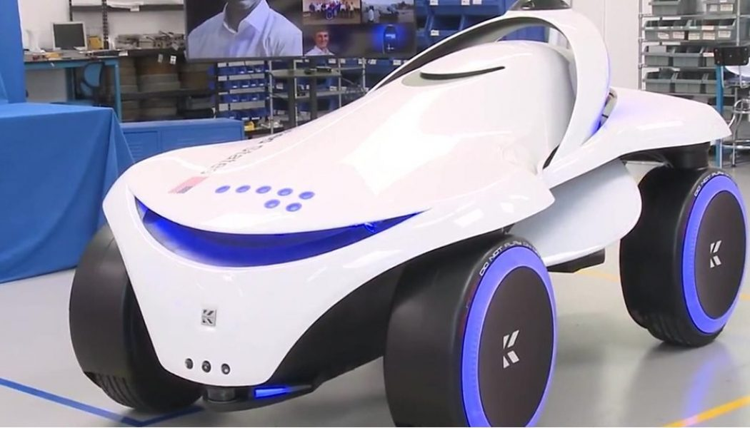 The all terrain security robot and other tech news