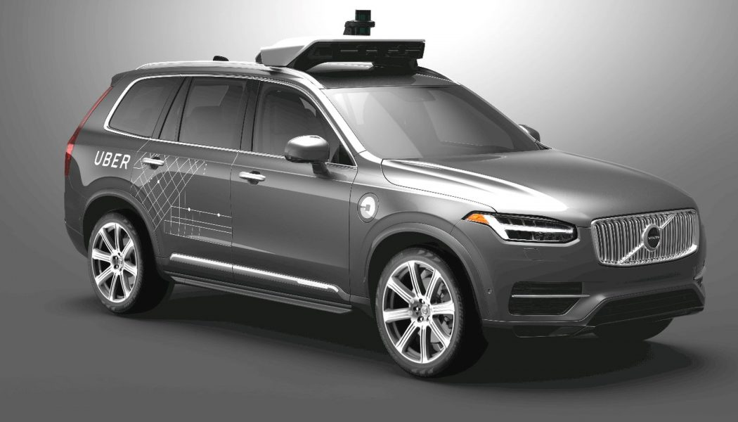 Uber and Volvo strike deal for 24,000 self-drive cars