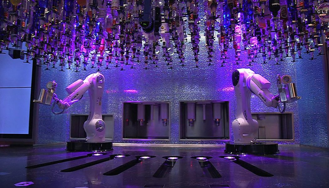 Robot bartender: The bar where machines mix drinks